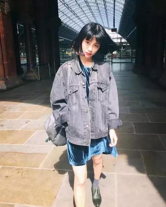 温柔时的韩范少女