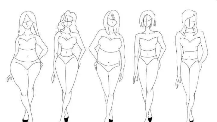 认清自身身材体型才能有好的形象设计,你知道自己的体型吗?